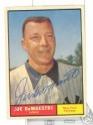 AUTOGRAPHED 1961 #116 Yankee Joe DeMaestri