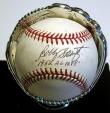 Bobby Shantz autographed baseball