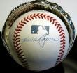 Hank Bauer Autographed Baseball
