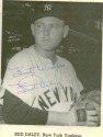 NY Yankees Bud Daly