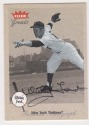 Whitey Ford AUTOGRAPH 2002 FLEER GREATS BASEBALL AUTOGRAPHED CARD