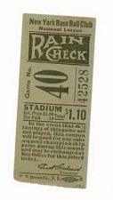 Facts about Ticket Stub collecting