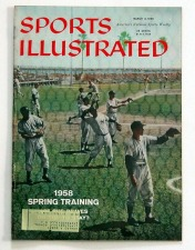 1958 Sports Illustrated Vintage Magazine Collection