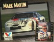 Mark Martin Autographed 8.5 by 11 promotion card