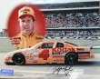 Sterling Marlin Autographed 8 by 10 Color Photo