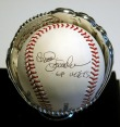 Bud Harrelson Autographed Baseball Inscribed with 69 Mets
