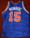 Earl The Pearl Monroe New York NY Knicks Autographed Jersey