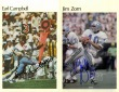 Autographed Card Set. - Jim Zorn & Earl Canpbell