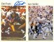 Autographed Card Set - Dan Fouts & Ken Stabler