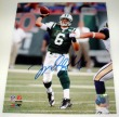 MARK SANCHEZ JETS AUTOGRAPHED 8X10 PHOTO