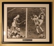 "Roger Staubach - Drew Pearson Autographed Photo ""Hail Mary Pass"" 12/29/75"