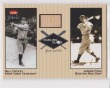 2002 FLEER GREATS OF THE GAME DUELING DUOS JIMMIE FOXX & BILL DICKEY