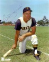 BILL MAZEROSKI PITTSBURGH PIRATES SIGNED 8X10 PHOTO