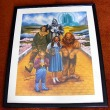 Mickey Carroll Munchkin Signed  Limited Edition Poster Wizard of Oz Painting by D. Agnew