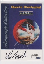 1999 Sports Illustrated FLEER Autographed Collection Baseball Cards