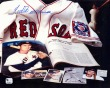 TED WILLIAMS Red Sox Autographed 8x10 Collage