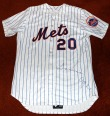 Tommie Agee Autographed NY Mets Jersey