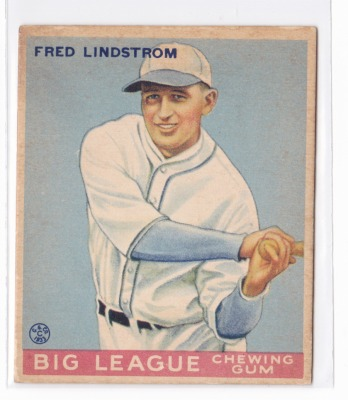 Ungraded Baseball Cards from the 1909 to 1975