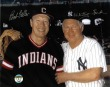 Whitey Ford & Bob Feller Photo